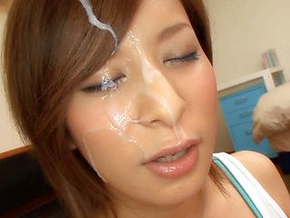 Yuria Sena nis a hot juicy Asian milf enjoying sex