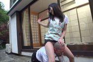 Naughty mature Asian Emiko Ejima dominating this horny guyboobs tits, sex tits, asian boobs