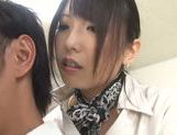 Chika Arimura Asian babe sucking and fucking hardcore