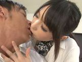 Chika Arimura Asian babe sucking and fucking hardcore picture 4