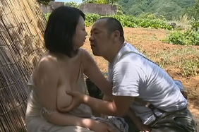 Busty Asian milf has steaming sex with her lover outdoorsbig tits boobs, hot tits, huge tits