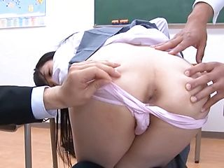 MMF session with nasty Asian teen babe Rin Suzune