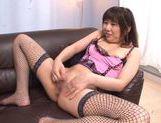 Beautiful Nanako Yoshimoto sexy model in cosplay sex action