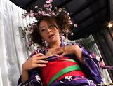 Luna Mikami Lovely Japanese model masturbates picture 7