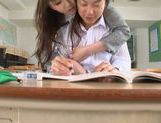 Lovely Yui Tatsumi teacher likes it deep and fast picture 14