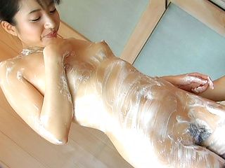 Momo Junna Asian chick is cute and hairy