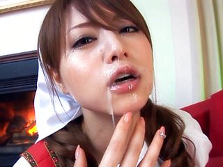 Akiho Yoshizawa Asian girl is amazing in cosplay sex