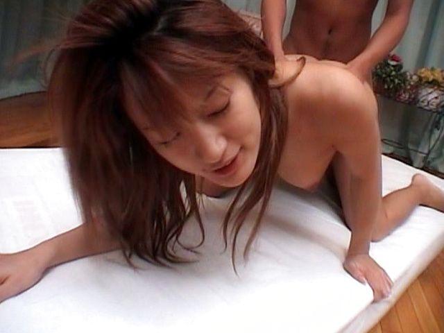 Nozomi Ran Lovely Asian model has sex