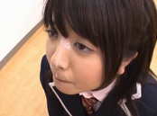 Lusty schoolgirl Aki Hinomoto deepthroats her strict male teacher