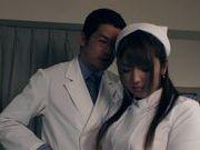 Wild nurse Shiori Kamisaki uses sex toys