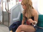 Sugary schoolgirl Megu Hazuki is screwed in a public place