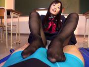 Tsukushi Osawa pleases with excellent foot jobnude asian teen, japanese pussy, hot asian pussy}