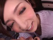 Babe with bubble ass Kaede Fuyutsuki enjoys cock in pussy