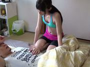 Steaming athletic stunner Moeka Nomura enjoys hard drilling