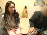 Pretty Japanese teen Mirei Kashiwagi gets her slit drilled hard