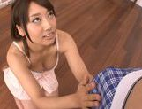 Arousing japanese hottie Himari Wakana enjoys oralasian chicks, asian babe}