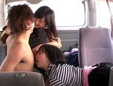 Asian milfs Uta Kohaku, Hibiki Otsuki enjoy group sexfucking asian, japanese pussy}