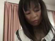 Yummy Japanese teen babe adores being fucked hard