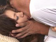 Sweet Yuu Asou pretty Asian babe gets her wet pussy licked