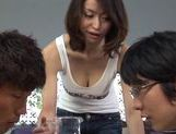 Kaede Niiyama gets her rear fuck with doggystyle sex picture 1