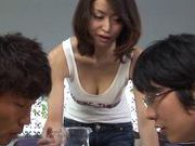 Kaede Niiyama gets her rear fuck with doggystyle sex