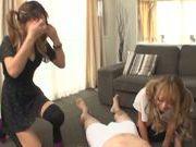 Aika Reika shares huge cock in threesome