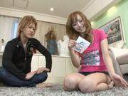 Yuu Namiki Japanese model rides a cock and gives a blowjob