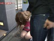 Yuu Namiki Japanese model rides a cock and gives a blowjob