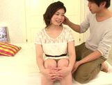 Seductive japanese model Airi Shy gets her slit nailed