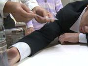 Young Maki Kouta gets nailed and filled up