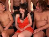 Busty Japanese milf Rie Tachikawa is drilled by sex toys picture 2