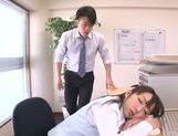 Amazing Japanese milf Chika Haruno adores tough oral games picture 10