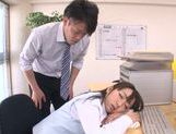 Amazing Japanese milf Chika Haruno adores tough oral games picture 11
