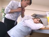 Amazing Japanese milf Chika Haruno adores tough oral games picture 12