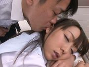 Amazing Japanese milf Chika Haruno adores tough oral games