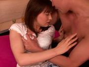 Yukiko Suo gives top oral before having sex