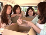 MILF Maids Yumi Kazama And Nanako Mori Fuck A Customer picture 4