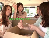 MILF Maids Yumi Kazama And Nanako Mori Fuck A Customer picture 5