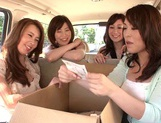 MILF Maids Yumi Kazama And Nanako Mori Fuck A Customer picture 6