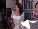 MILF Maids Yumi Kazama And Nanako Mori Fuck A Customer picture 9