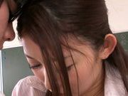 Hot Japanese teacher Natsume Inagawa seduces her student