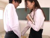 Hot Japanese teacher Natsume Inagawa seduces her studenthot asian girls, asian women}