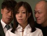 Submissive busty Japanese milf Chihiro Akino enjoys screwing picture 14