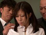 Submissive busty Japanese milf Chihiro Akino enjoys screwing picture 15
