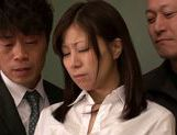 Submissive busty Japanese milf Chihiro Akino enjoys screwing picture 7