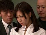 Submissive busty Japanese milf Chihiro Akino enjoys screwing picture 8