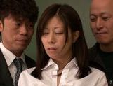Submissive busty Japanese milf Chihiro Akino enjoys screwing picture 9