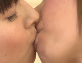 Juicy lesbian girl Shunka Ayami kisses her amazing girlfriend picture 14