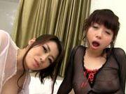 Karou Natsuki takes off her sexy lingerie