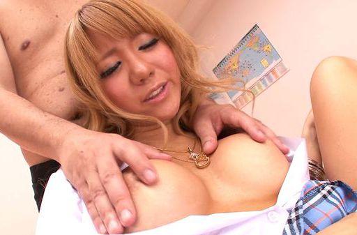 Cum thirsty vixen Asuka Hoshi enjoys amazing threesome sex